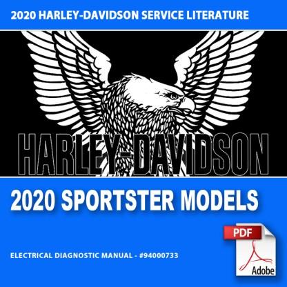 2020 Sportster Models Electrical Diagnostic Manual #94000733