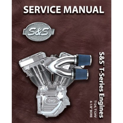 S&S 4-1/8 124 & 124V T-Series Engines