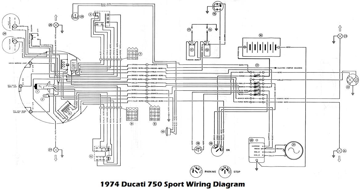 all about ducati wiring diagram  zip.news