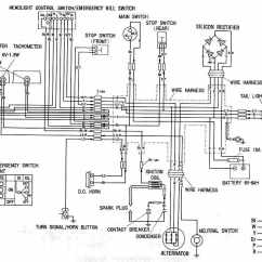 Honda Cb400 Vtec Wiring Diagram Suzuki Fiero Wave 100 Motorcycle Best Library Complete Electrical Of Xl100 Cb400f 4into1 Vintage