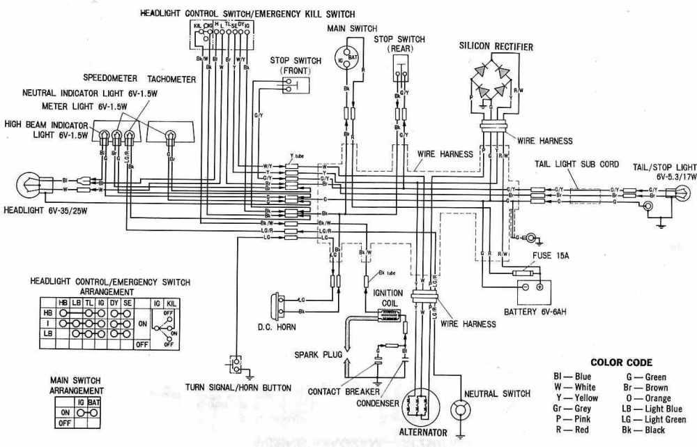 medium resolution of honda sl70 wiring harness wiring diagram centre honda sl70 wiring diagram honda sl70 wiring