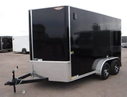 7x12 Enclosed Cargo Trailer  Tandem Axle  4495