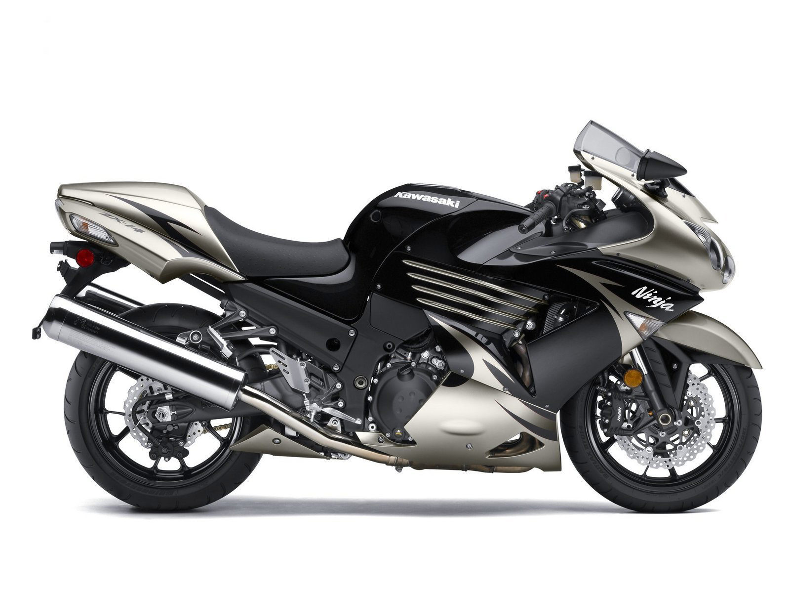 KAWASAKI Ninja ZX14 2010  MOTORCYCLE BIG BIKE