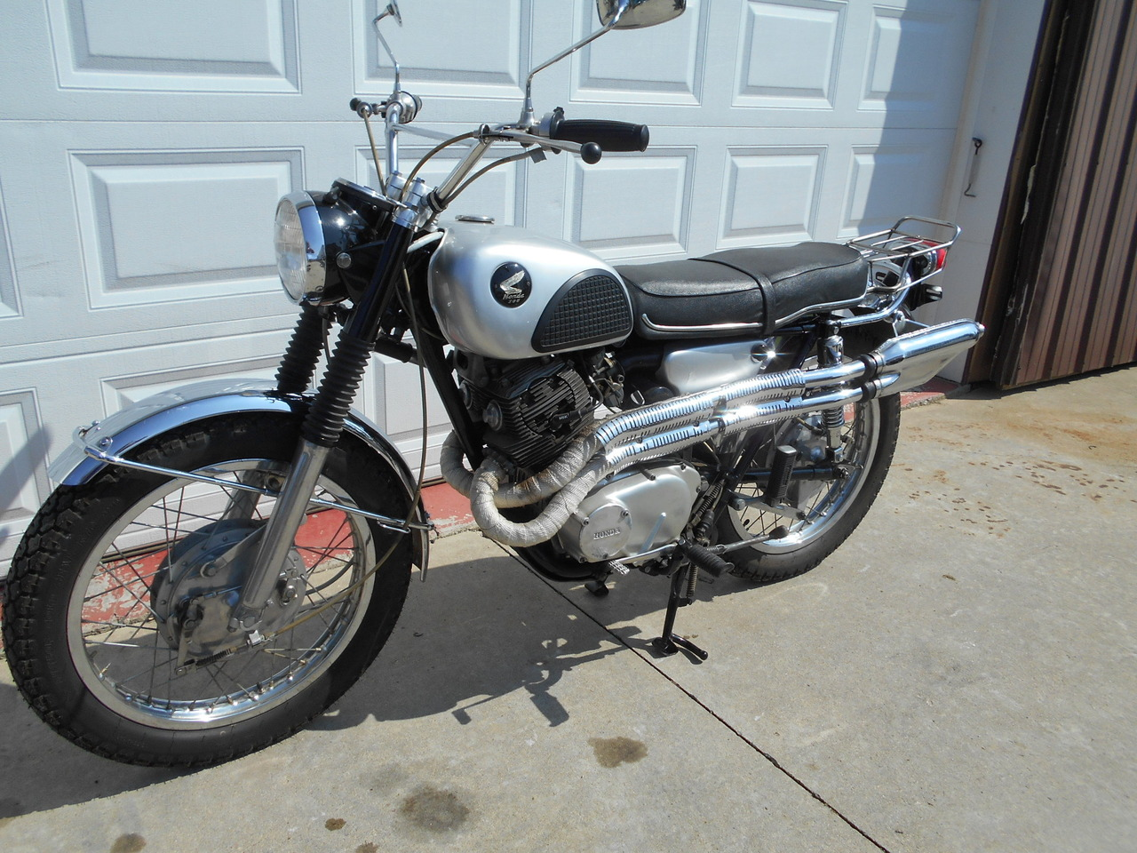 hight resolution of 1967 honda cl77 305 scrambler cycle trader used motorcycles price