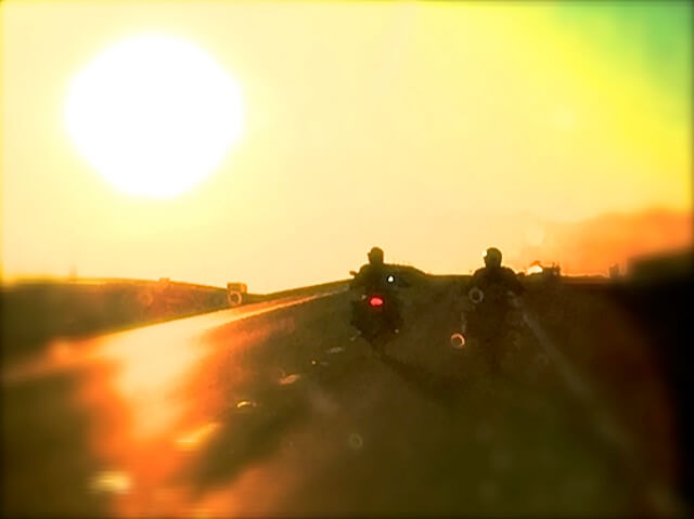 BMW Ultimate Ride, Motorcycle Experience, sunset, Nevada, highway, las vegas