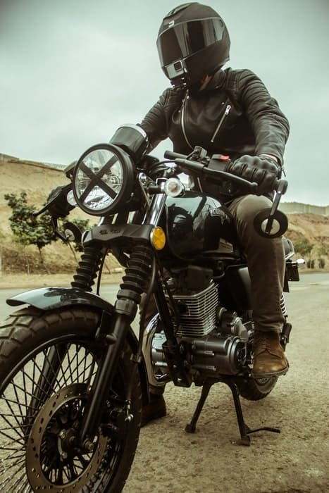 Cafe Racers Have An X On The Headlight