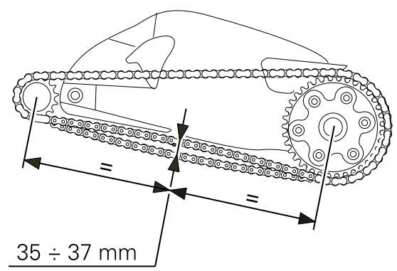 Ducati Multistrada 1200 / MTS1200 Drive Chain Adjustment