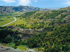 Canyon Road, Theodore Roosevelt National Park