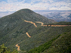 Los Padres National Forest Bates Canyon
