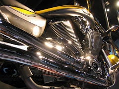 Twin Cylinder Motorcycle