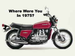 Honda Goldwing 1975