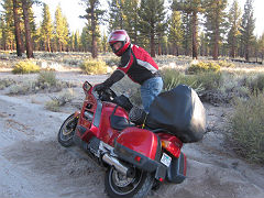 motorcycle tip over
