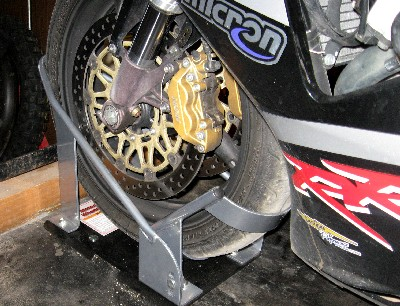 Harbor Freight Motorcycle Wheel Chock Review ...