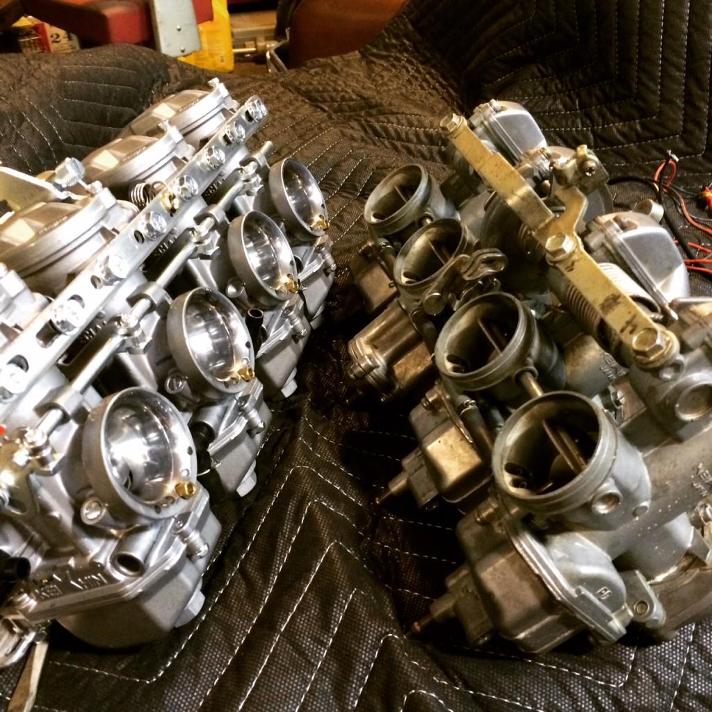 hight resolution of carburetor synchronization symptoms