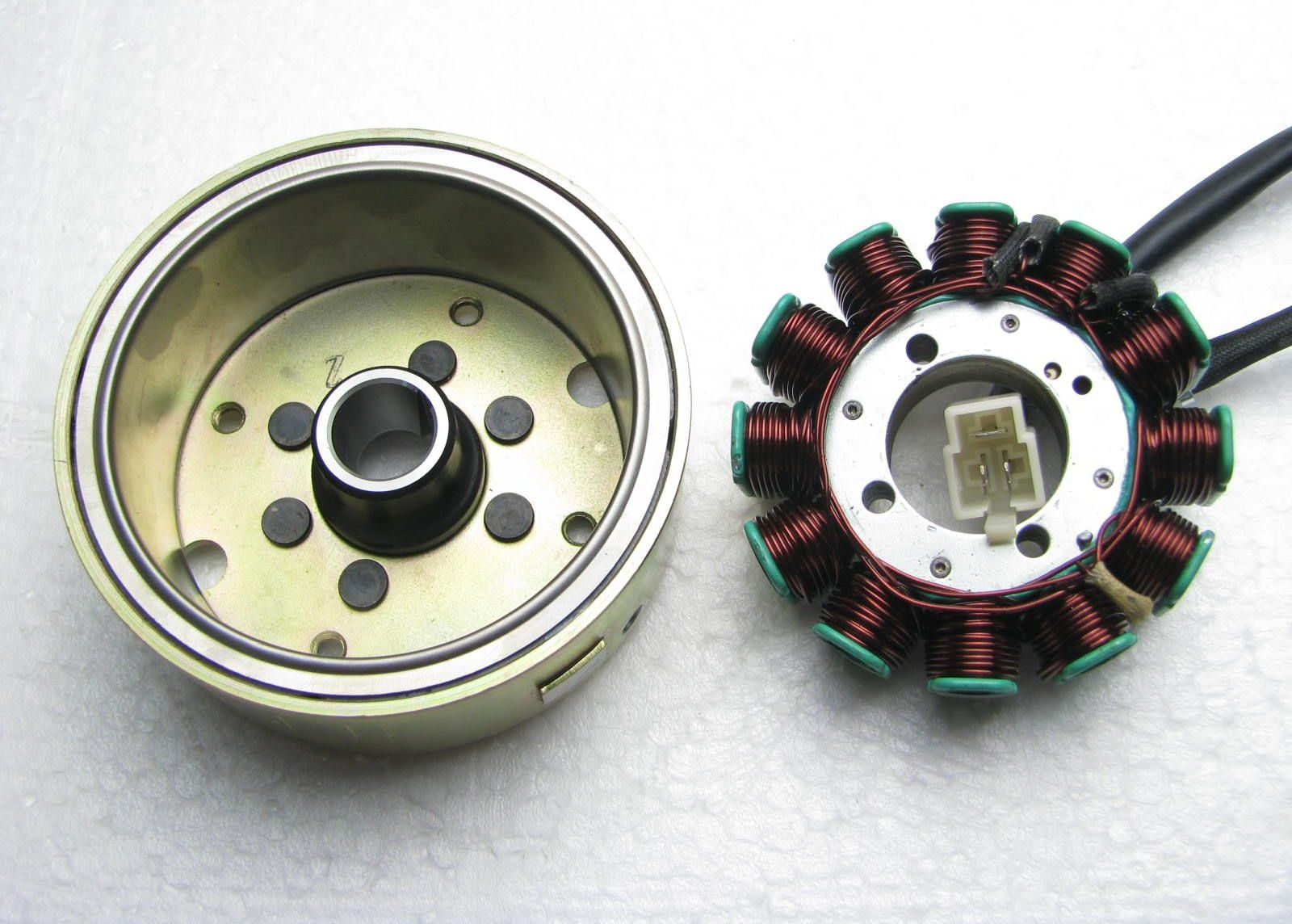 hight resolution of stator and rotor
