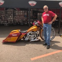 Mike Levine, Motorcycles, Sturgis Rally