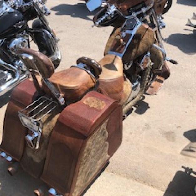 Custom Wooden Motorcycle