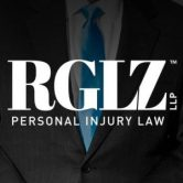 TEXT Logo - RGLZ Law Suit with Blue Tie