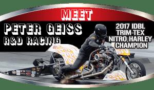 Drag Race top Fuel Motorcycle