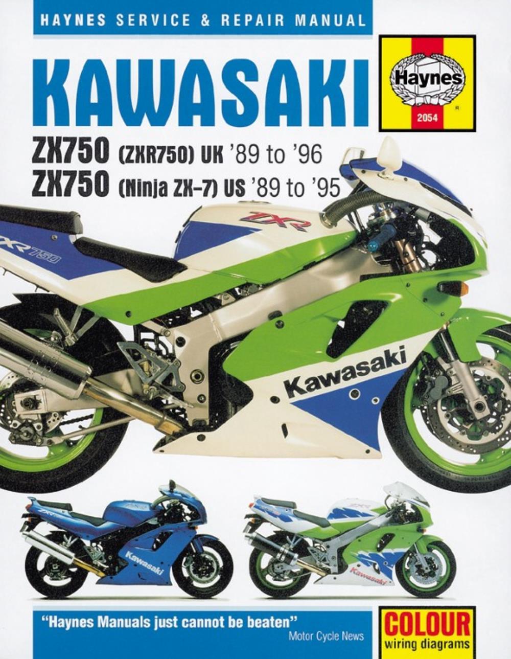 medium resolution of manual haynes for 1989 kawasaki zxr 750 h zx750h1 description manual haynes for 1989 kawasaki zxr 750