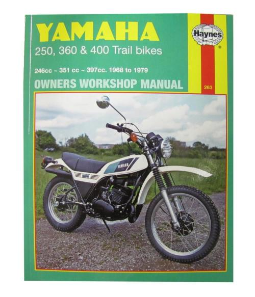 small resolution of  0000266 workshop manual yamaha dt250 75 79 rt360 70 73 dt360 dt400 74 77 manual haynes for