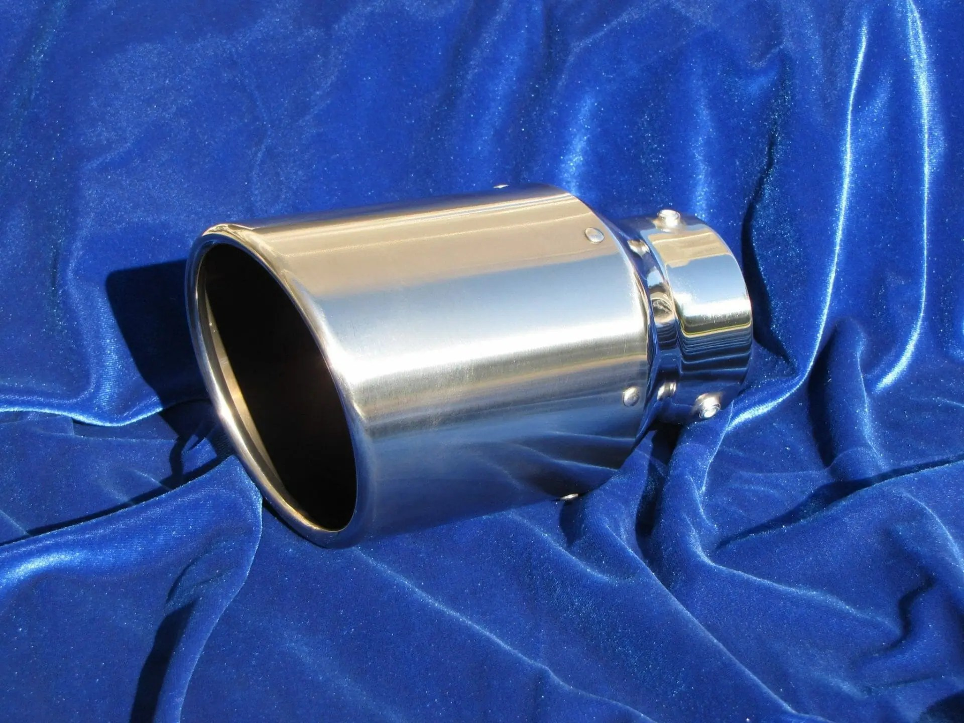 motordyne 4 5 stainless rolled exhaust