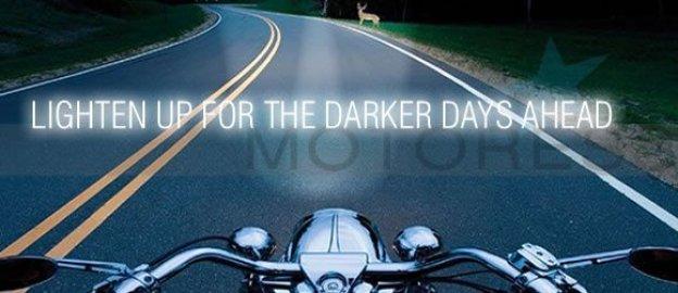 Lighten up for Darker Riding Days