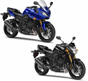 Yamaha FZ8 Great for Women Motorcycle Riders