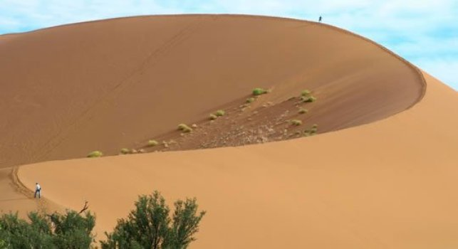 Namibia by Motorcycle