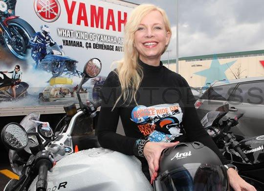 International Female Ride Day Vicki Gray