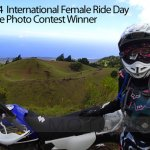 2014 International Female Ride Day Selfie Photo Contest Winner