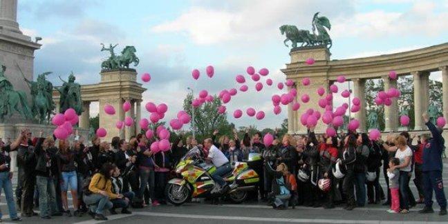 International Female Ride Day 2012 Photo Contest Winner Budapest Women Riders 2012