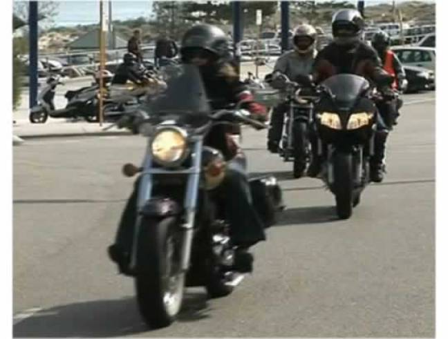 Women Motorcycle Rider Perth