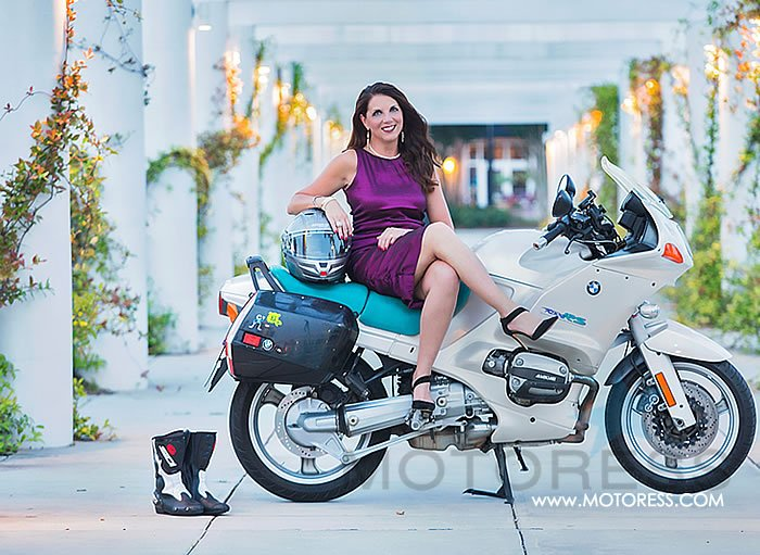 The Long Distance Fashionista with an Iron Butt - Your Story on MOTORESS