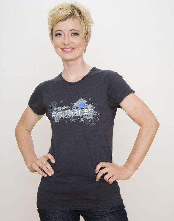 Sporty Bike Women's Bamboo T-Shirt