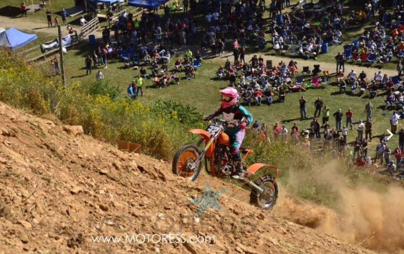 Molly Carbon Woman Pro Hillclimb Racer on MOTORESS