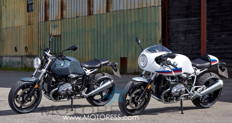 BMW R nineT Racer and BMW R nineT Pure on MOTORESS.com