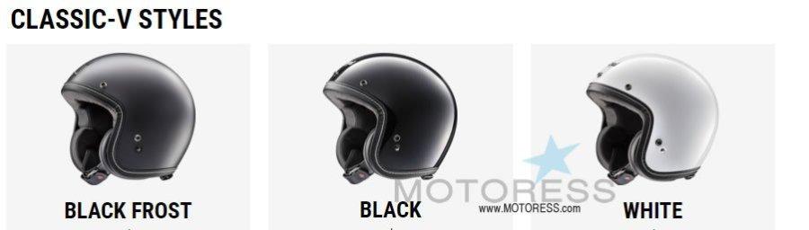 Arai Classic-V Helmet Offers An Open Face With High Standards