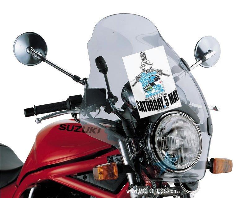 2018 International Female Ride Day Windscreen Flyer on MOTORESS