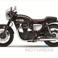 Kawasaki W800 Cafe Motorcycle Throwback to 1960s Original - MOTORESS Vicki Gray