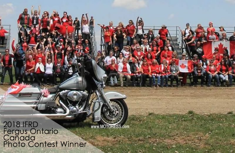 Ontario Canada International Female Ride Day Gallery on MOTORESS