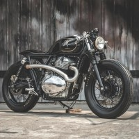 Zeus Custom Royal Enfield INT650, minimalista