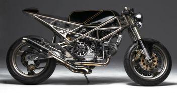 Custom Ducati_Monster by Hazan Motorworks