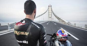 Kenan Sofuoğlu rijdt 400 km/h op Kawasaki H2R