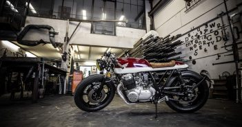 Honda CB750 caferacer wrench kings