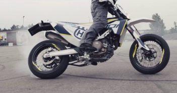 husqvarna 701 stuntvideo