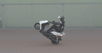 wereldrecord wheelie
