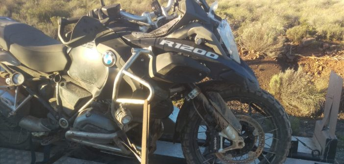 BMW R1200GS productiefout