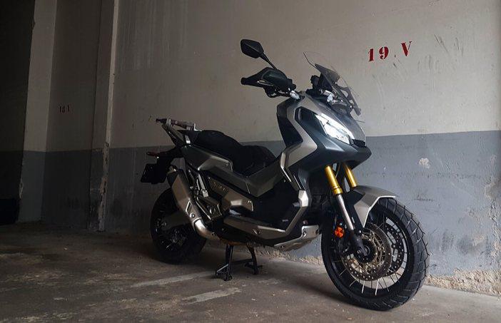 Honda X-Adv test