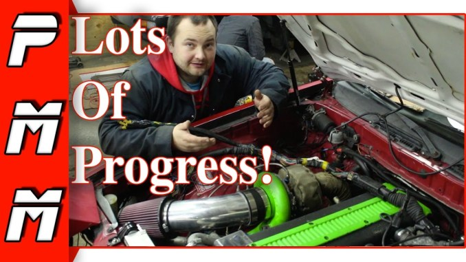 Lots Of Small Things But BIG Progress! 1JZGTE MKIII Supra Drift Missile